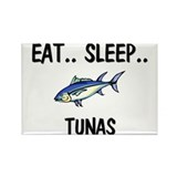 Eat ... Sleep ... TUNAS Rectangle Magnet