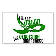 I Wear Green 33 (Glaucoma Awareness) Decal