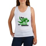 I Wear Green 33 (Glaucoma Awareness) Women's Tank