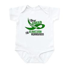 I Wear Green 33 (Glaucoma Awareness) Infant Bodysu