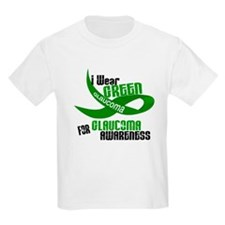 I Wear Green 33 (Glaucoma Awareness) T-Shirt