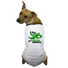 I Wear Green 33 (Glaucoma Awareness) Dog T-Shirt