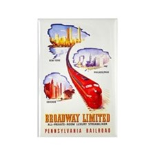 Broadway Limited PRR Rectangle Magnet (10 pack)
