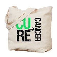 Cure (Liver) Cancer Tote Bag