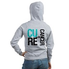 Cure (Thyroid) Cancer Zip Hoodie
