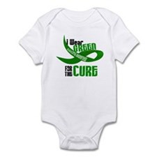 I Wear Green 33 (Glaucoma Cure) Infant Bodysuit