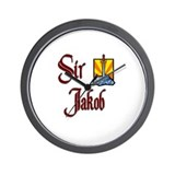 Sir Jakob Wall Clock
