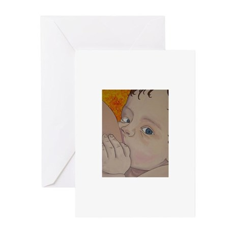 mama milk is good Greeting Cards (Pk of 10)