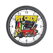 Flying High Motocross Wall Clock