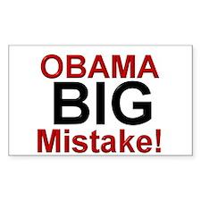 Big Mistake Rectangle Sticker 10 pk)