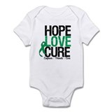 HopeLoveCure Liver Cancer Onesie