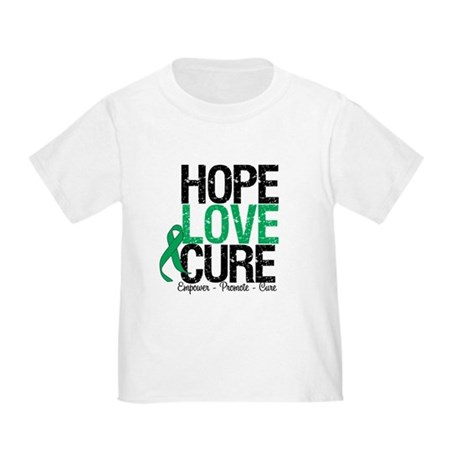 HopeLoveCure Liver Cancer Toddler T-Shirt