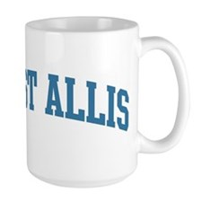 West Allis (blue) Mug