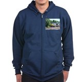 CSX Q190 Doublestack Train Zip Hoodie