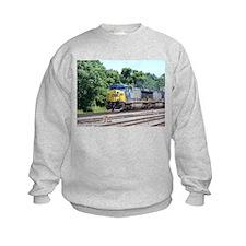 CSX Q190 Doublestack Train Sweatshirt