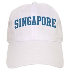 Singapore (blue) Baseball Cap