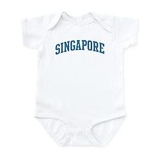 Singapore (blue) Infant Bodysuit