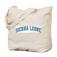 Sierra Leone (blue) Tote Bag