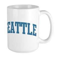 Seattle (blue) Mug