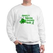 Glaucoma Awareness Month BEE 3 Sweatshirt