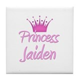 Princess Jaiden Tile Coaster