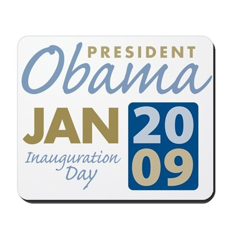 Obama Inauguration Mousepad