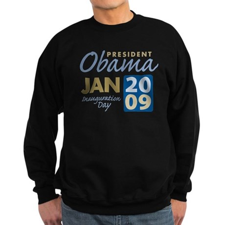Obama Inauguration Sweatshirt (dark)