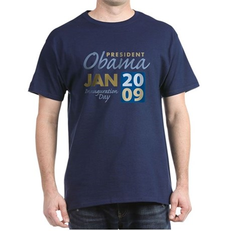 Obama Inauguration Dark T-Shirt