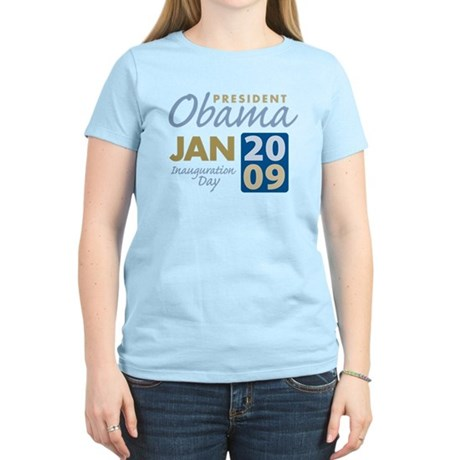 Obama Inauguration Women's Light T-Shirt