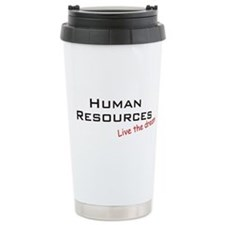 Human Resources / Dream! Ceramic Travel Mug