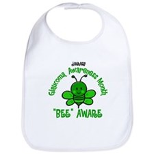Glaucoma Awareness Month BEE 2 Bib