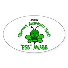 Glaucoma Awareness Month BEE 2 Decal
