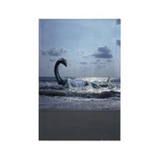 Sea Serpent ~ Rectangle Magnet