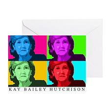Kay Bailey Hutchison Greeting Card