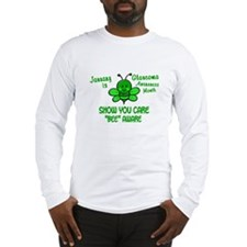 Glaucoma Awareness Month BEE 1 Long Sleeve T-Shirt