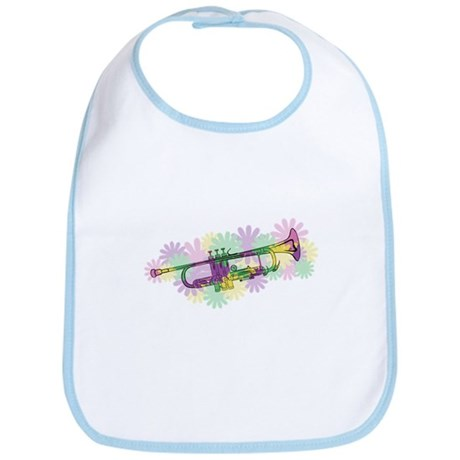 Flower Power Trumpet Bib