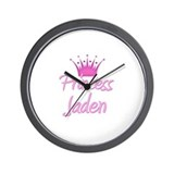 Princess Jaden Wall Clock