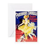Pantomimes Greeting Card