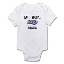 Eat ... Sleep ... SNAKES Infant Bodysuit