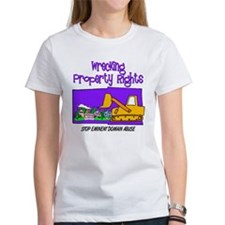 Wrecking Property Rights Tee