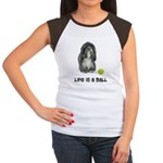 Tibetan Terrier Life Women's Cap Sleeve T-Shirt