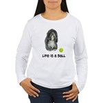 Tibetan Terrier Life Women's Long Sleeve T-Shirt