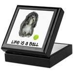 Tibetan Terrier Life Keepsake Box