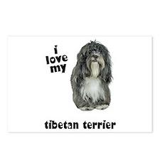 Tibetan Terrier Lover Postcards (Package of 8)