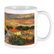Van Gogh Valley Ploughman Coffee Mug
