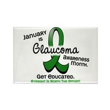 Glaucoma Awareness Month Rectangle Magnet