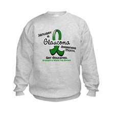 Glaucoma Awareness Month Sweatshirt