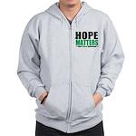 HopeMatters LiverCancer Zip Hoodie
