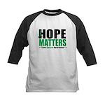 HopeMatters LiverCancer Kids Baseball Jersey