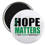 HopeMatters LiverCancer Magnet
